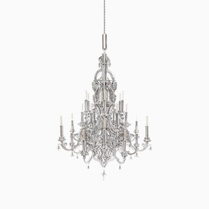 Gina Stainless Steel Chandelier by Enzo Scibetta for MYOP
