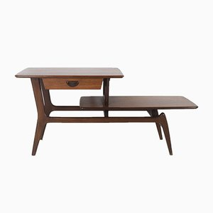 Vintage Dutch Teak Side Table by Louis van Teeffelen for WéBé, 1960s