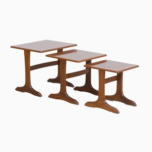 Mid-Century Nesting Tables from Parker Knoll, Set of 3