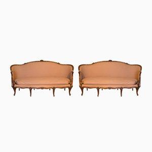 Canapè antico Luigi XV, Francia