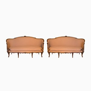 Französisches Antikes Louis XV Sofa