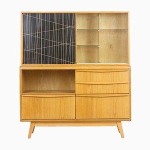 Restored Wooden Sideboard by Bohumil Landsman for Jitona, 1960s