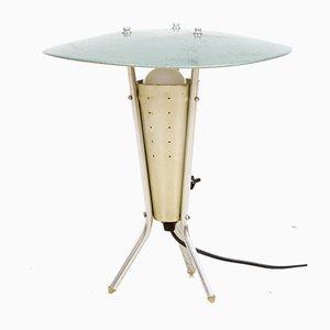 Space Age Aluminium Desk Lamp, 1950s