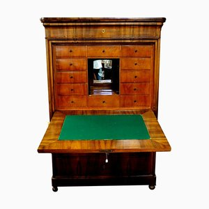 Biedermeier Walnut Secretaire, 1800s