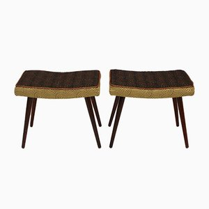 Scandinavian Stools, 1950s, Set of 2