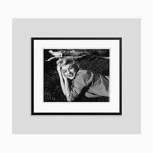 Marilyn Monroe Silver Gelatin Resin Print Framed in Black by Baron