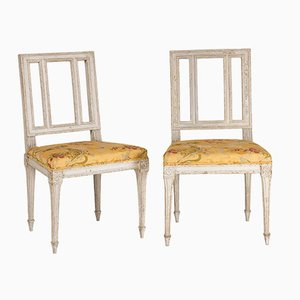 Antique Louis XVI Period Chairs, Set of 2