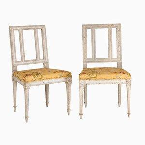 Sedie antiche Luigi XVI, set di 2