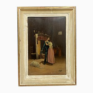 Gemälde von Bruno Blatter, The Departure of the Sailor
