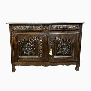 Louis XV Solid Oak Buffet