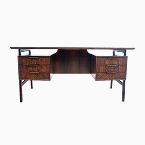 Danish Rosewood Desk from Omann Jun, 1960s