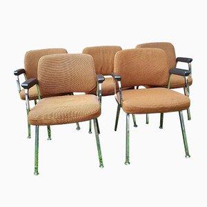 Sessel von Martin Stoll für Sedus, 1970er, 5er Set