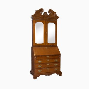 Antique Bureau-Bookcase, 18th Century