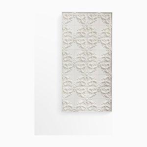 Pannello decorativo Acanthus in ceramica # 03 di Bevilacqua per MYUP