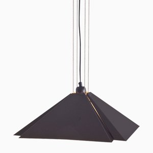 Vintage Square Ceiling Lamp from Dijkstra Lampen