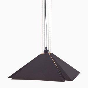 Vintage Square Ceiling Lamp from Dijkstra Lampen