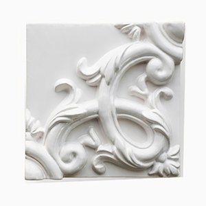 Decorative Ceramic Acanthus Panel by Anthony & Joseph Bevilacqua for MYOP