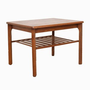 Mid-Century Danish Teak Coffee Table from Toften, 1960s.
