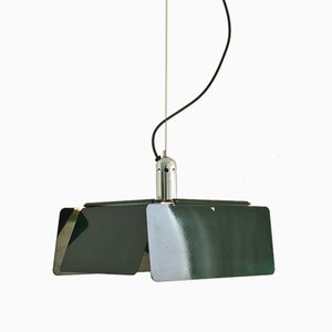 Vintage Diaframma Deckenlampe von Fabio Lenci für Guzzini