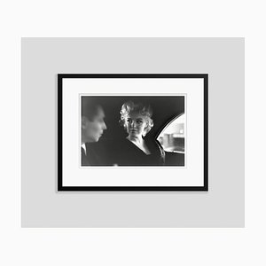 Marilyn Monroe & Dick Shepherd Silver Gelatin Resin Print Framed in Black by Ed Feingersh