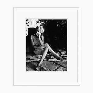 Marilyn Monroe 1954 Silver Gelatin Resin Print Framed in White by Baron