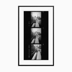 Marilyn Monroe Contact Strip Silver Gelatin Resin Print Framed in Black by Ed Feingersh