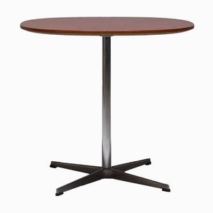 Tavolo da pranzo Super Circular di Piet Hein, Arne Jacobsen per Fritz Hansen, anni '60
