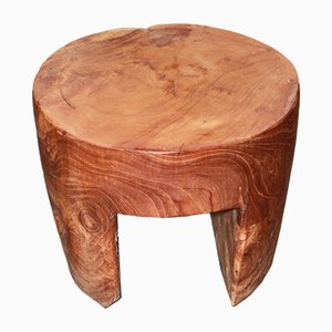 Tree Trunk Side Table or Stool, 1990s