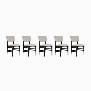 Mid-Century Side Chairs by Vittorio Dassi, Set of 5
