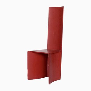 Red Plywood Chair, 1993