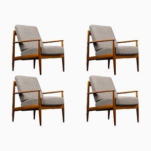 Dänische Mid-Century Teak Sessel von Grete Jalk für France & Søn / France & Daverkosen, 1960er, 2er Set