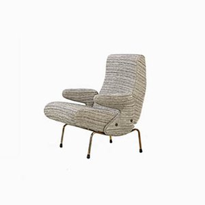 Mid-Century Delfino Lounge Chair by Erberto Carboni for Arflex