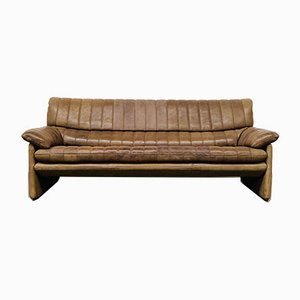 Mid-Century Swiss Neck Leather DS-85 Sofa from de Sede, 1970s