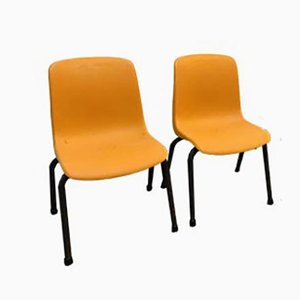 High Children's Chairs from Grosfillex, 1960s, Set of 2