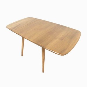 Mid-Century Blonde Drop Leaf Dining Table from Ercol