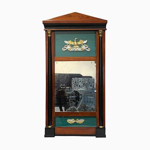 Small Biedermeier Wall Mirror in Cherry Solid Wood, South Germany, 1820s
