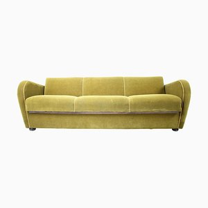Art Deco Sofa or Bed H-363 by Jindrich Halabala for Up Závody, 1930s