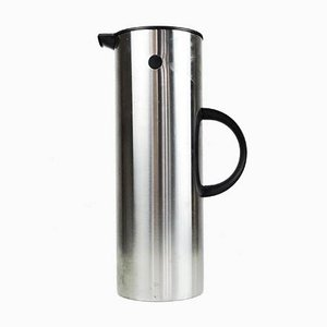 Danish Coffee Pot in Stainless Steel from Stelton, 1960s