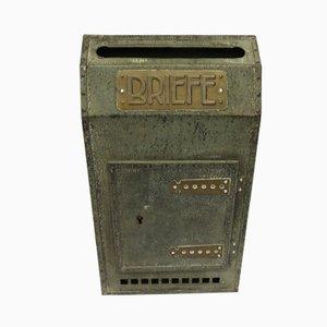 Art Nouveau Metal Letterbox