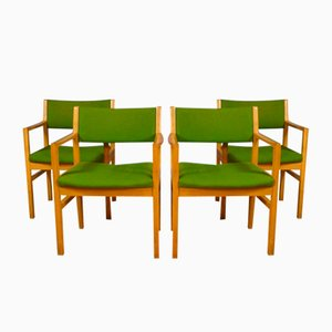 Mid-Century Danish Oak Dining Chairs from Soro Stolefabrik, 1970s, Set of 4