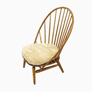 Bågen Lounge Chair by Sven Engström & Gunnar Myrstrand for Nässjö Stolfabrik, 1950s