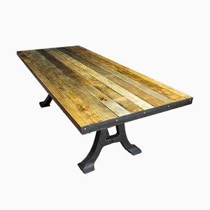 Industrial Robust Table from Vloer Tabaksfabriek