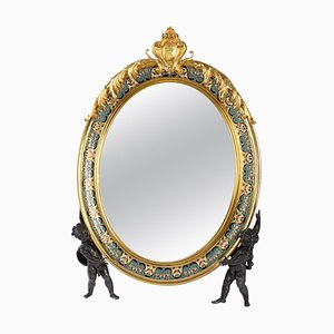 19th Century Napoleon III Toiletry Mirror