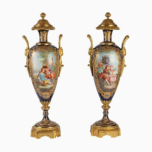 Antique Vases from Sèvres, Set of 2