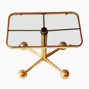Mid-Century Modern Space Age Adjustable Coffee Table Trolley from Allegri Arredamenti, 1970s