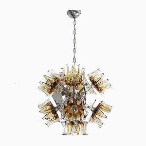 Vintage Sputnik Chandelier in Murano Glass by Carlo Nason for Mazzega, 1970s