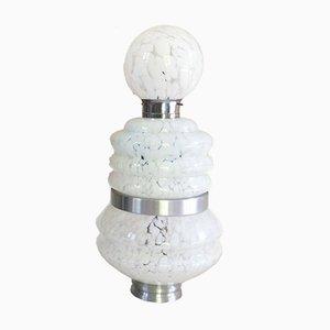 Italienische 3-stufige Stehlampe aus Muranoglas von Carlo Nason für Mazzega, 1970er