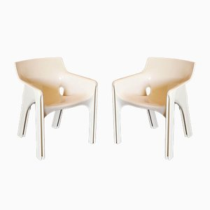 Gaudi Dining Chairs by Vico Magistretti for Artemide, 1970s, Set of 2