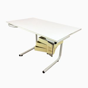 Mid-Century Modern Architect Writing Desk by Joe Colombo for Bieffeplast, 1960s