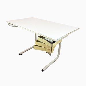 Mid-Century Modern Architekten Schreibtisch von Joe Colombo für Bieffeplast, 1960er